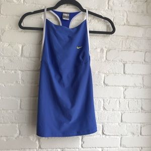 Nike FitDry Athletic Tank top w/Built in Bra Small
